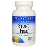 Planetary Herbals  Stone Free  820 mg  90 Tablets
