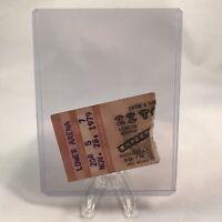 ZZ Top Rupp Arena Lexington KY Concert Ticket Stub Rare Vintage November 28 1979