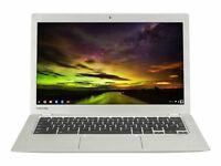 "Toshiba CB30-B-103 13.3"" (16GB, Intel Celeron, 2.16GHz, 2GB) Chromebook - Silver"