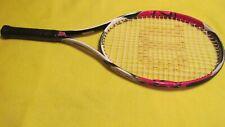 "Wilson K Factor (K)arophite Black Six One 26 Junior 4"" (L0) Grip Tennis Racquet"