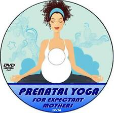 PRENATAL YOGA VIDEO DVD GENTLE & SAFE EXERCISE DURING PREGNANCY RELAXING & FUN