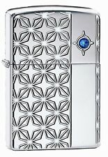 Zippo Blue Star Limited Edition Armor case xxx/500 swarosvski elements 60002175