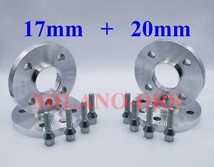 KIT 4 DISTANZIALI RUOTA 16+20mm OPEL ADAM CORSA B-C-D-E ( 4 FOR) + BULLONI