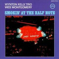 WES MONTGOMERY - WYNTON KELLY TRIO: SMOKIN' AT THE HALF NOTE CD! 1989 VERVE! EX+