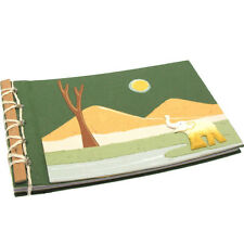 El comercio justo Eco maximus Elefante estiércol papel Álbum De Fotos Scrapbook Verde