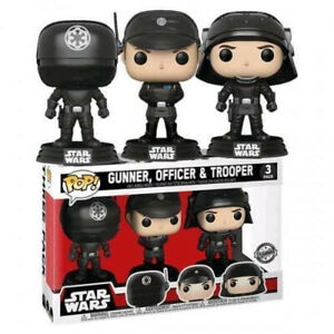 Funko Pop! Pack 3 Figuras Star Wars EXCLUSIVO Gunner, Officer & Trooper