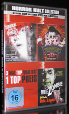 DVD HORROR KULT - ZURÜCK BLEIBT DIE ANGST, WHITE ZOMBIE, KABINETT DES SCHRECKENS