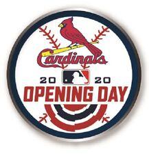 ST. LOUIS CARDINALS 2020 OPENING DAY PIN MAJOR LEAGUE BASEBALL MLB WORLD SERIES?