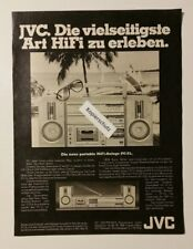 Werbeanzeige/advertisement A4: JVC HiFi-Anlage PC-5L 1981 (120416191)