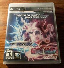 Tekken Hybrid - Playstation 3 - PS3 - Video Game - Game Disc & Case