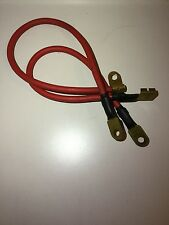 Mk1 Ford Escort 1300E  GT Battery Cables