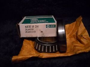 Napa  Set 24 Bearing and Race USA Made