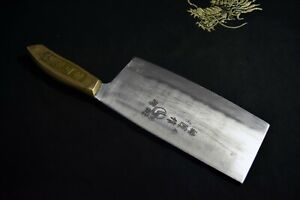 Japanese Kitchen / Chef Knife Unknown Chuka ( Chinese Cleaver ) 180mm Japan 2089