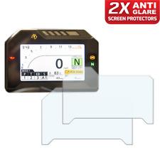 2 x HONDA FIREBLADE CBR1000RR Panel de control/Speedo: Protector De Pantalla Anti-reflejos