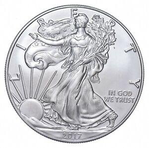 Better Date 2017 American Silver Eagle 1 Troy Oz .999 Fine Silver *730