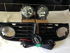 VW GOLF  MK5 2004-2009  front Fog Light Kit With Switch ALL MODELS (NOT GTi)