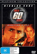 Gone In 60 Seconds - Action / Thriller / Police Investigation / Chase - NEW DVD