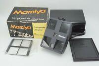 【MINT】 Mamiya TetraPhoto 4 Way ID Photo Adapter for Universal Press 127mm f/4.7