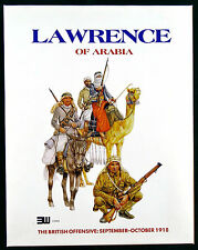 Lawrence of Arabia British Offensive WWI 1918 3W game 2nd Edition 1993