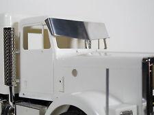 Tamiya RC 1/14 King Grand Hauler Semi Custom Drop Bowtie Sunvisor Plate Visor