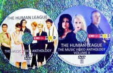 Button & FREE HUMAN LEAGUE & Phil Oakey Music Video Collection 78-2017 2 DVD Set