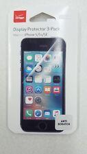 Verizon Display Protector 3-Pack iPhone 5 5s SE AntiScratch WTLC5TAS3PK