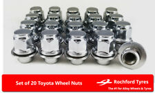 Original Style Wheel Nuts (20) 12x1.5 Nuts For Toyota Corolla Verso [Mk3] 04-09
