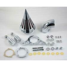 chrome Spike Air Cleane Kit For Harley Davidson Touring Road Glide Electra Glide