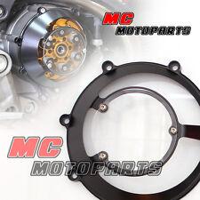 Black Ducati Open Clutch Cover Monster 620 750 900 1000 ie Dry Clutch CC31
