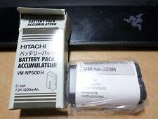 original sealed  Battery for HITACHI VM Series vm-np500h li-ion 7.2v 1200mah