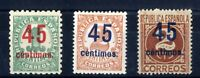 Sellos de España 1938 nº 742/744 Cifras sellos Nuevos sin fijasellos