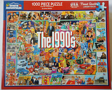 1990s 90s Pop Culture 1000 Piece Jigsaw Puzzle White Mountain Kids Family Teens
