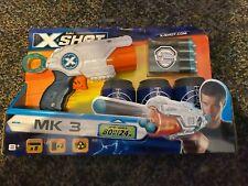 Zuru X-Shot MK3 Dart Blaster New 8 Foam Pellets darts