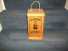 Jack Daniels Whiskey Collectable Wooden CD Holder Box