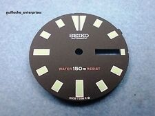 NEW SEIKO BLACK DIAL FOR 6309-729X DIVE WATCH, DL08