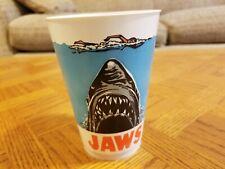Vintage 1975 Jaws 7-11 Icee Slurpee 16 Ounce Plastic Cup