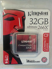 Kingston Ultimate 32 GB 266x - CompactFlash I Card - (CF/32GB-U2)
