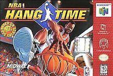 NBA Hang Time Nintendo 64 N64 OG Retro Basketball Kids Family SUPER FAST SHIP!