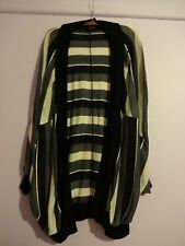 Ladakh Grey, Black & Cream  Knit Jacket Size S