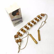Vintage w/ Box Maple Wood Matrix The Body Massager