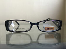 bagsclothesetc: NEW with DEFECT J. SLOANE AJ161 Women's Black Eyeglass Frames