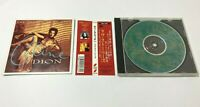 "Celine Dion CD ""The Colour Of My Love"" (Love Stories) Bonus Track Ltd Japan OBI"