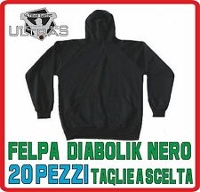 MATERIALE ULTRAS felpa DIABOLIK ninja nero PEZZI 20