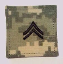 U.S. Army ACU Rank E4 Corporal w/fastener Uniform Ready  Made in USA