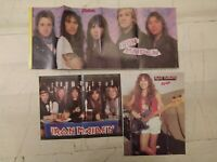 IRON MAIDEN / Steve Harris Vintage Collection of Posters Heavy Metal