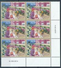 [328698] Aland 2014 good block of 6 stamps very fine MNH