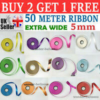 5mm EXTRA Wide Luxury Balloon curling ribbon 25 meters Party Baloon Wrapping