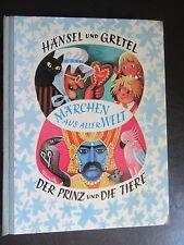 Hänsel und Gretel...Märchen aus aller Welt-Kubasta-Artia
