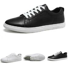 Mens Leisure Sneakers Boards Shoes Outdoor Walking Sports Lace up Pumps Casual L