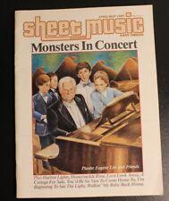 Sheet Music Magazine April May 1985
